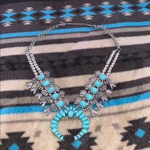 Turquoise Squash Necklace